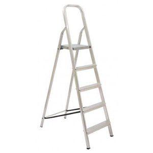 Escada Soft em Alumínio 5 Degraus Mor  - Comercial Tuan Materiais para Construção