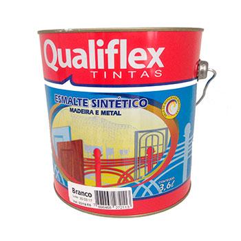 Esmaste Sintético 3,6 litros Branco Qualiflex  - Comercial Tuan Materiais para Construção