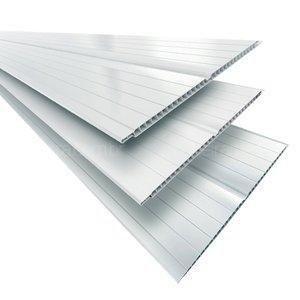 Forro PVC Branco 7mm Fortplast  - Comercial Tuan Materiais para Construção