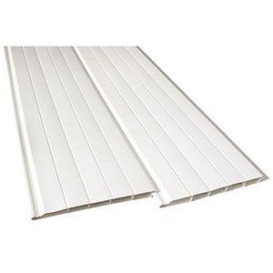 Forro PVC Branco Normatizado Antichamas 8mm Fortlev  - Comercial Tuan Materiais para Construção