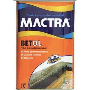 Impermeabilizante Betol Mactra  - Comercial Tuan Materiais para Construção