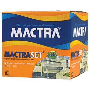 Impermeabilizante Mactraset 18Kg Mactra  - Comercial Tuan Materiais para Construção