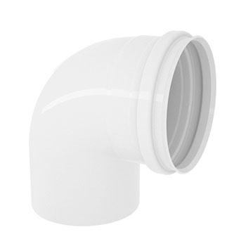 Joelho 90° PVC para Esgoto Amanco  - Comercial Tuan Materiais para Construção