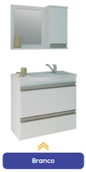 Kit Toucador com Espelho Grécia MGM  - Comercial Tuan Materiais para Construção