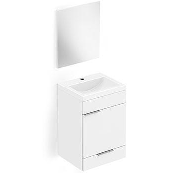Kit Toucador Like 41x34 Branco Celite  - Comercial Tuan Materiais para Construção