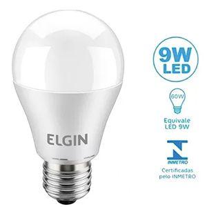 Lâmpada Led 9W Elgin  - Comercial Tuan Materiais para Construção