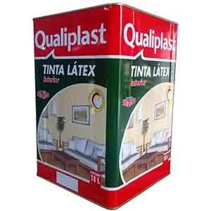 Látex PVA Qualiplast Branco 18 litros Qualiflex  - Comercial Tuan Materiais para Construção
