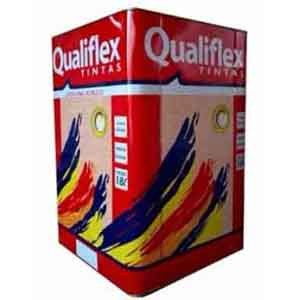 Látex Vinil Plus Branco 18 litros Qualiflex  - Comercial Tuan Materiais para Construção