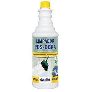 Limpador Pós-Obra 1 litro Duratto  - Comercial Tuan Materiais para Construção