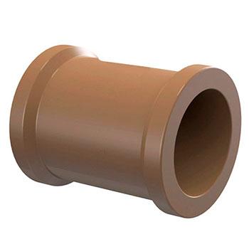 Luva Marrom PVC Soldável Amanco  - Comercial Tuan Materiais para Construção
