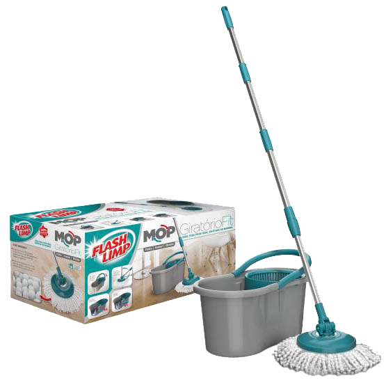 MOP Giratório Fit Flash Limp  - Comercial Tuan Materiais para Construção