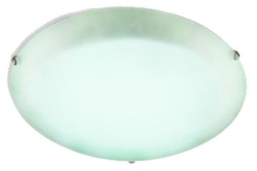 Plafon Redondo Cristal Branco Blumenau  - Comercial Tuan Materiais para Construção