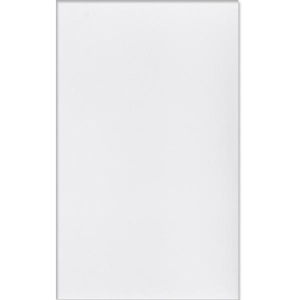 Revestimento de Borda Reta Brilhante Style White Lanzi  - Comercial Tuan Materiais para Construção