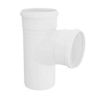 Tê PVC para Esgoto Amanco  - Comercial Tuan Materiais para Construção