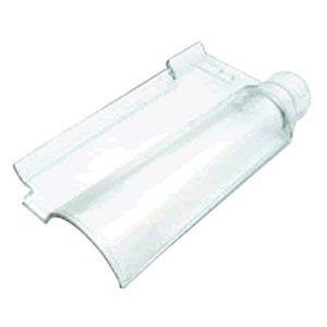 Telha de Vidro Portuguesa Transparente Prismatic  - Comercial Tuan Materiais para Construção