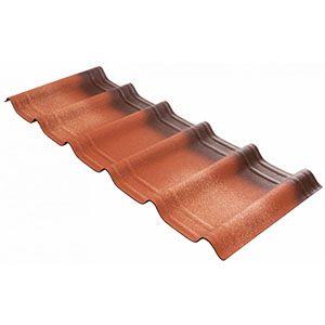 Telha Ecológica Premium Onduvilla 107x40cm Vermelha Onduline  - Comercial Tuan Materiais para Construção