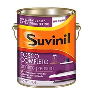 Tinta Acrílica Premium Fosco Branca Suvinil  - Comercial Tuan Materiais para Construção