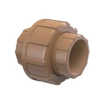 União Marrom PVC Soldável Tigre  - Comercial Tuan Materiais para Construção
