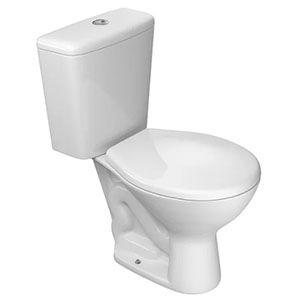 Vaso Sanitário Branco com Caixa Acoplada 3/6 litros Izy Deca  - Comercial Tuan Materiais para Construção