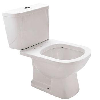 Vaso Sanitário Branco com Caixa Acoplada Flox  Fiori  - Comercial Tuan Materiais para Construção