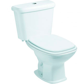 Vaso Sanitário com Caixa Acoplada 3/6L Fit Branco Celite  - Comercial Tuan Materiais para Construção