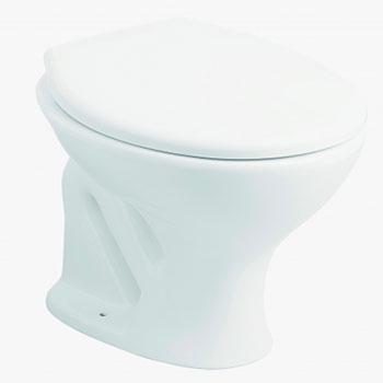 Vaso Sanitário Convencional Branco Hervy  - Comercial Tuan Materiais para Construção