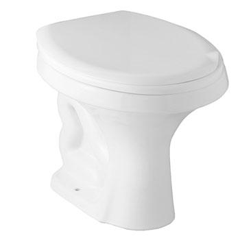 Vaso Sanitário Convencional Saveiro Branco Celite  - Comercial Tuan Materiais para Construção