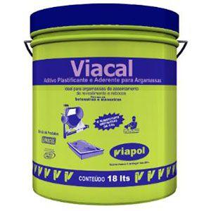 Viacal Balde 18 litros Viapol  - Comercial Tuan Materiais para Construção