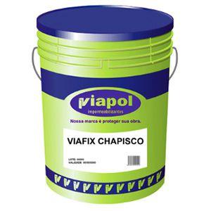 Viafix Chapisco Balde 18 litros Viapol  - Comercial Tuan Materiais para Construção