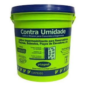 Viapol Contra Umidade Balde 18 litros  - Comercial Tuan Materiais para Construção