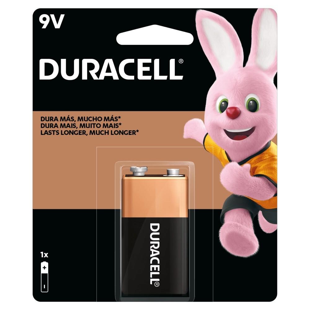 01 Pilha Bateria 9V Alcalina DURACELL 1 cartela