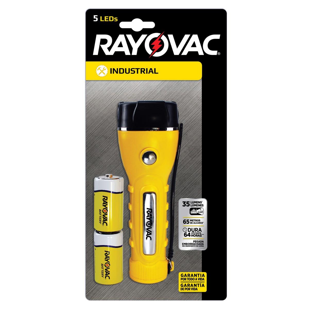 06 LANTERNAS Profissionais 5 LEDs RAYOVAC