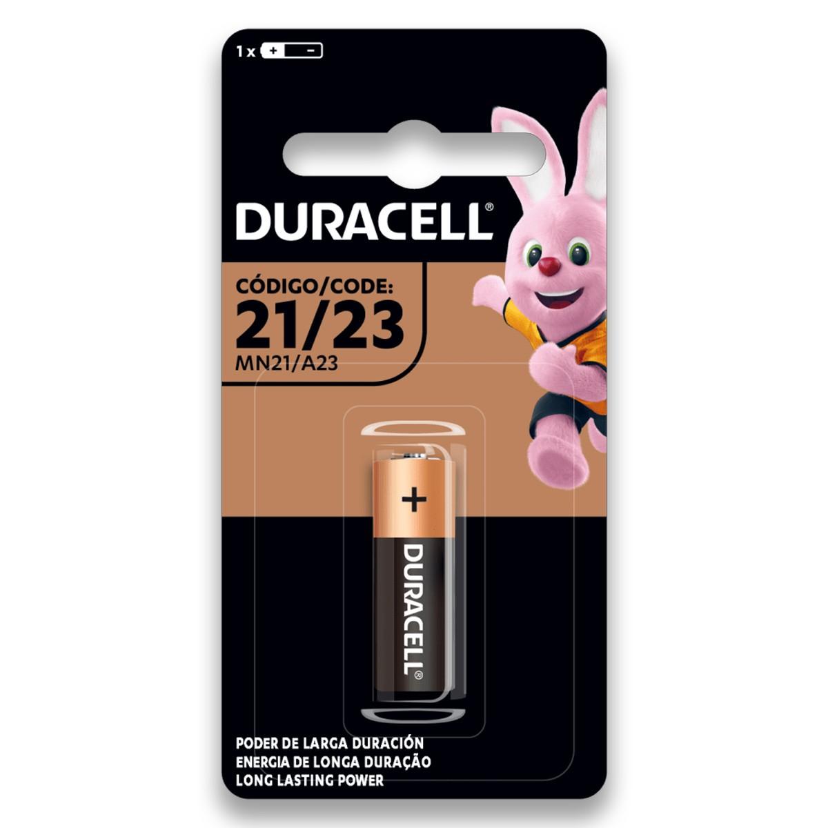 08 Pilhas Bateria DURACELL 23A 12V A23 Alcalina 8 cartelas