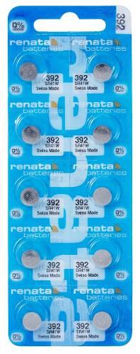 Pilha Bateria 392, Relógio 1.55v Renata Sr41w Original 10 Unid.