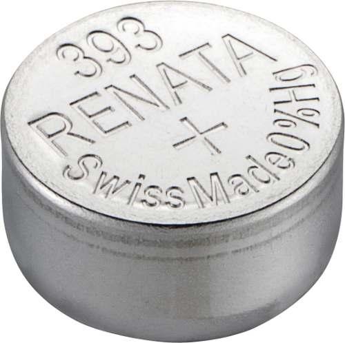 10 Pilha Bateria 393 Relógio 1.55v Renata Sr754w Original - 01 cartela com 10 unidades