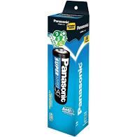 104 Pilhas AA Zinco Carvão PANASONIC 2 tubos