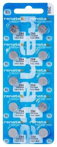 Pilha Bateria 394, Relógio 1.55v Renata Sr936s Original 10 Unid.