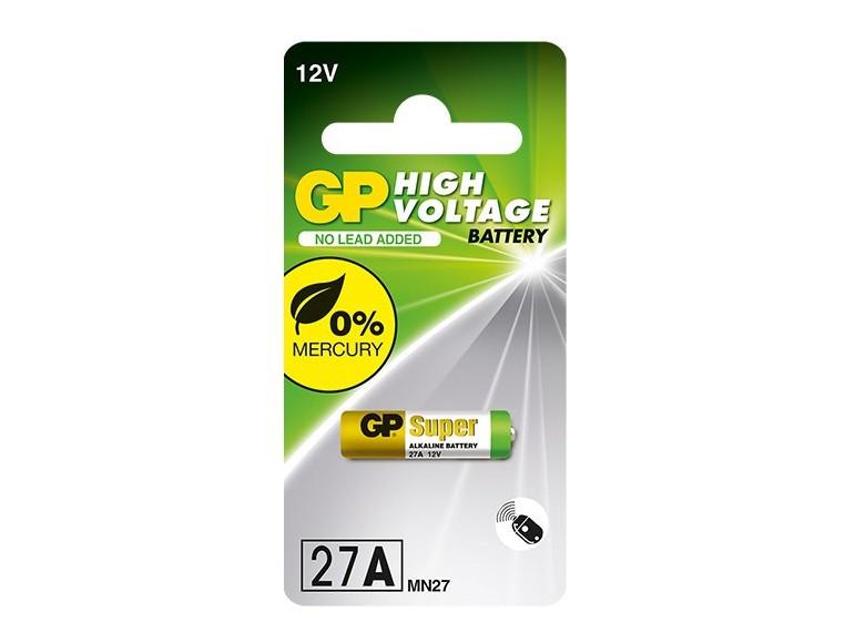 10 Pilhas Baterias 27A 12V Alcalina GP 02 cartelas com 5 unidades