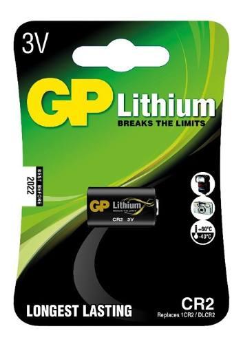 10 Pilhas GP SUPER CR2 3V Bateria Lithium Foto 10 cartela
