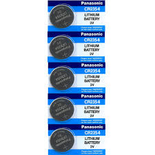 10 Pilhas PANASONIC CR2354 3v Bateria Original 2 cartelas