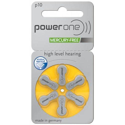 24 Pilhas Baterias P 10 PR70 Aparelho Auditivo - Power One