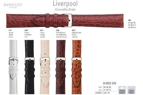 Pulseira Couro Liverpool Italiana Morellato Origi U0751 376