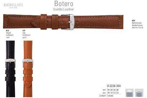 Pulseira Couro Botero Italiana Morellato Original U2226 364