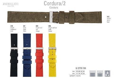 Pulseira De Cordura Italiana Morellato Original U2779 110