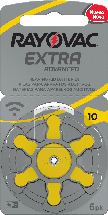 30 Pilhas baterias 10 PR70 Aparelho auditivo RAYOVAC