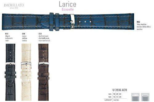 Pulseira Couro Larice Italiana Morellato Original U3936 A70