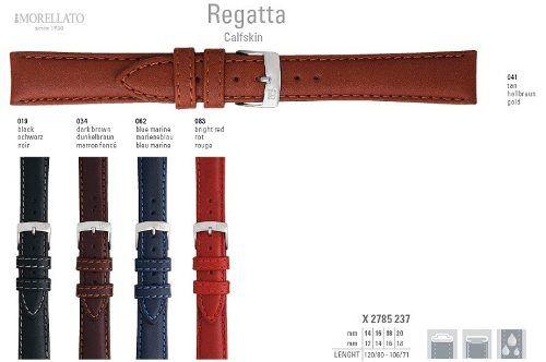 Pulseira Couro Regatta Italiana Morellato Original X2785 237