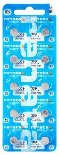 Pilha Bateria 309, Relógio 1.55v Renata Sr754s Original 10 unid.