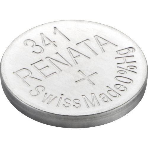 10 Pilha Bateria 341 Relógio 1.55v Renata Sr714s Original - 01 cartela com 10 unidades