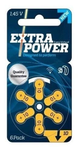 72 Pilhas baterias 10 PR70 Aparelho auditivo EXTRA POWER